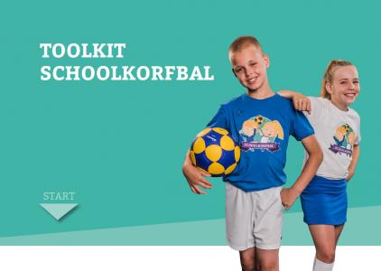 Toolkit schoolkorfbal, een mooi hulpmiddel